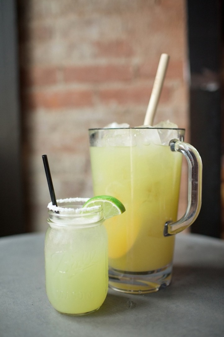 At Bakersfield OTR, cocktails like the Margarita (pictured) comprise the majority of beverage sales.