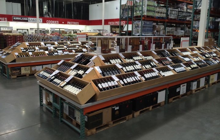 Wine makes up half of Costco's beverage alcohol sales, with domestic Cabernet Sauvignon and Chardonnay doing well.