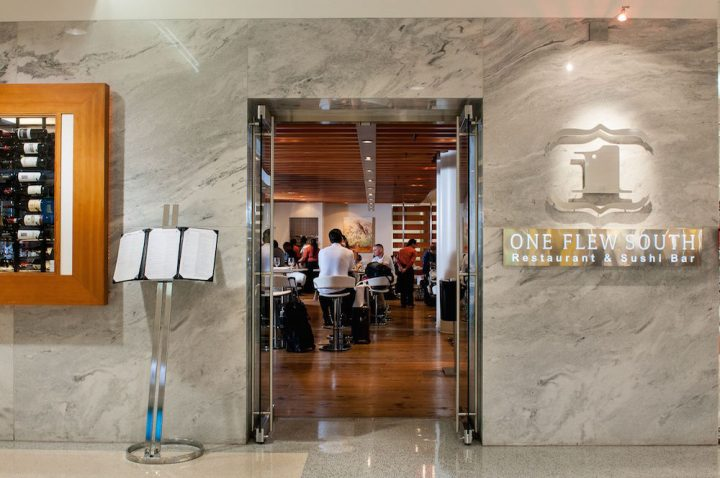 One Flew South in the Hartsfield-Jackson Atlanta International Airport offers world-class cocktails to international travelers.