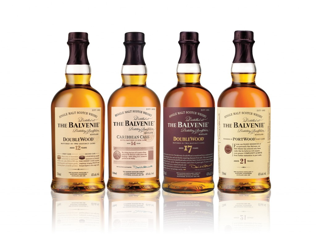 The Balvenie continues to emphasize the age of its core range and special releases, even offering a 50-year-old at a suggested retail price of $38,000.