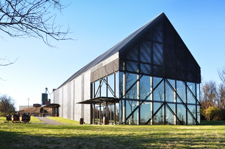 Wild Turkey (new visitors center pictured) has returned to growth, and a recent distillery expansion has increased capacity.