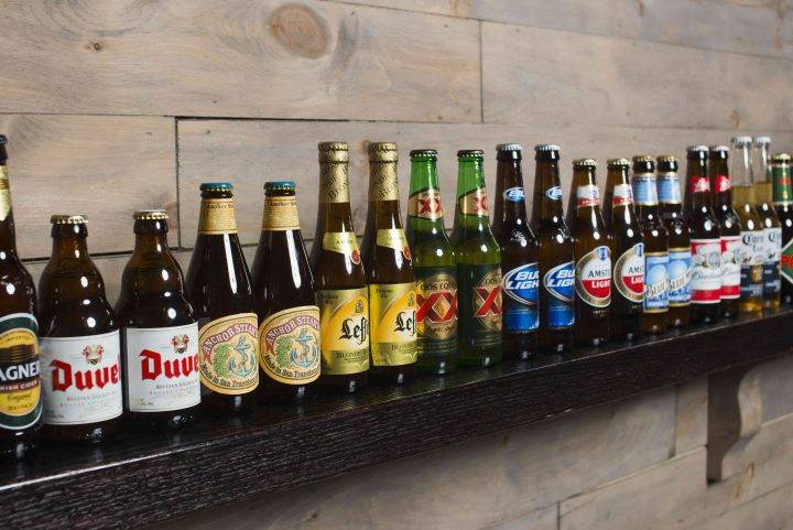 The Ainsworth's selection of mainstream, craft and imported beers pair well with its array of burgers. Beverage comprises 60 percent of sales.