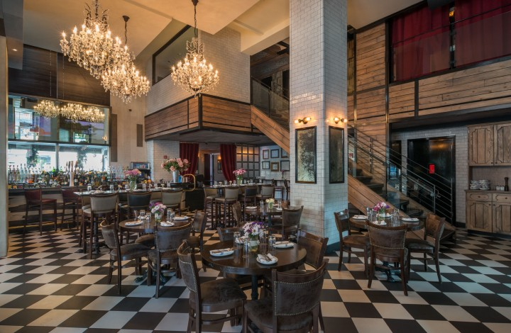 Opened in 2013, Paige's newest eatery The Chester has an extensive seating area—including a weatherproof outdoor garden—in the Gansevoort Meatpacking NYC hotel.