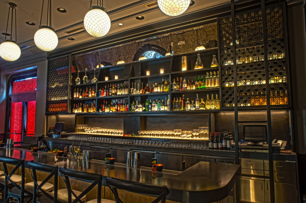 The European in San Francisco offers a menu of Prohibition-era classic cocktails.