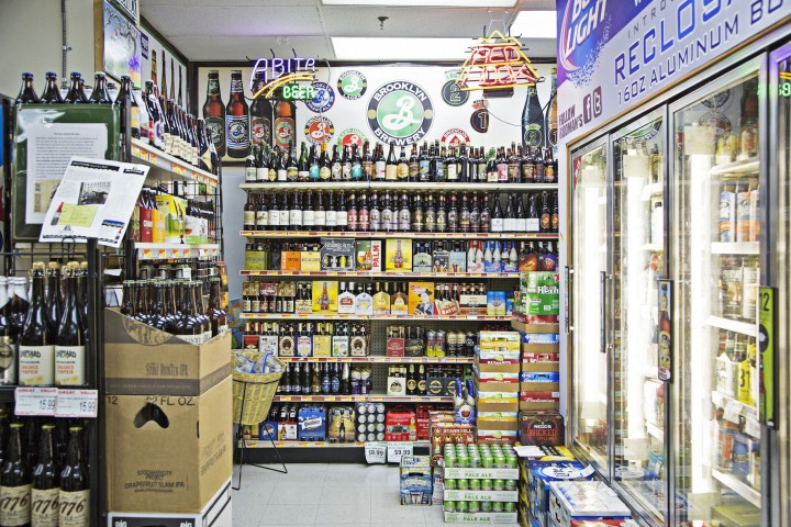 Rodman's beer selection is dominated by craft labels, and the store gives little space to mainstream brews.