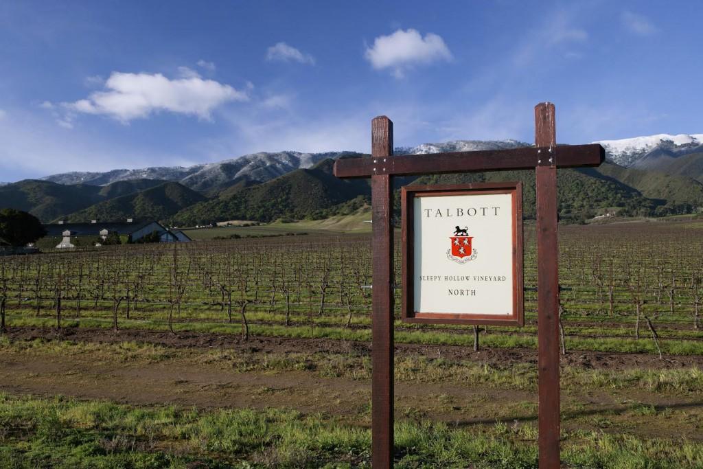 Talbott Vineyards produces top-rated Chardonnay in Monterey.