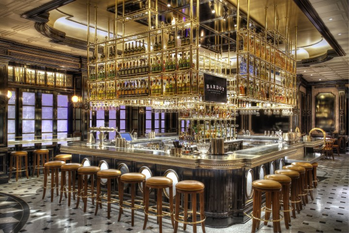 Michael Mina's Bardot Brasserie in Las Vegas' Aria Resort & Casino reinvents the French bistro, combining French food and wine offerings with craft beer and cocktails.