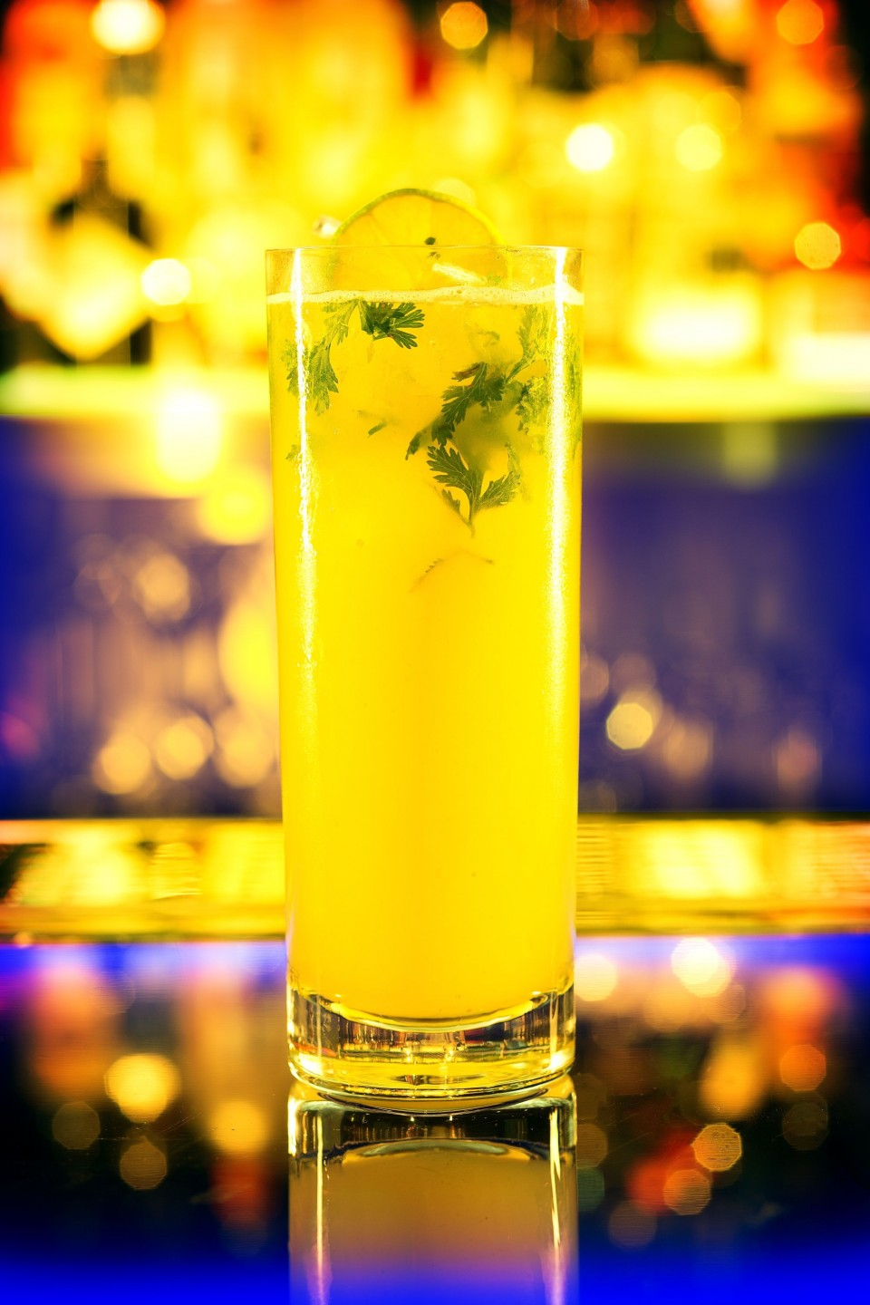 The Chinese Mule at Hakkasan is made using Masumi Okuden junmai and Hangar One vodka.