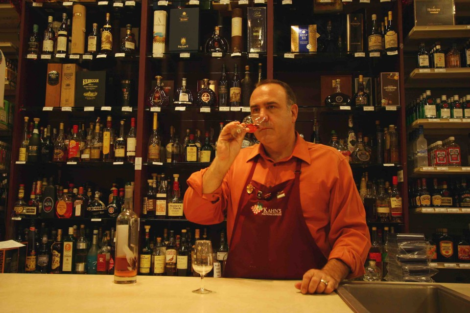 Jim Arnold of Kahn's Fine Wine & Spirits in Indianapolis stocks 100 Cognac SKUs.