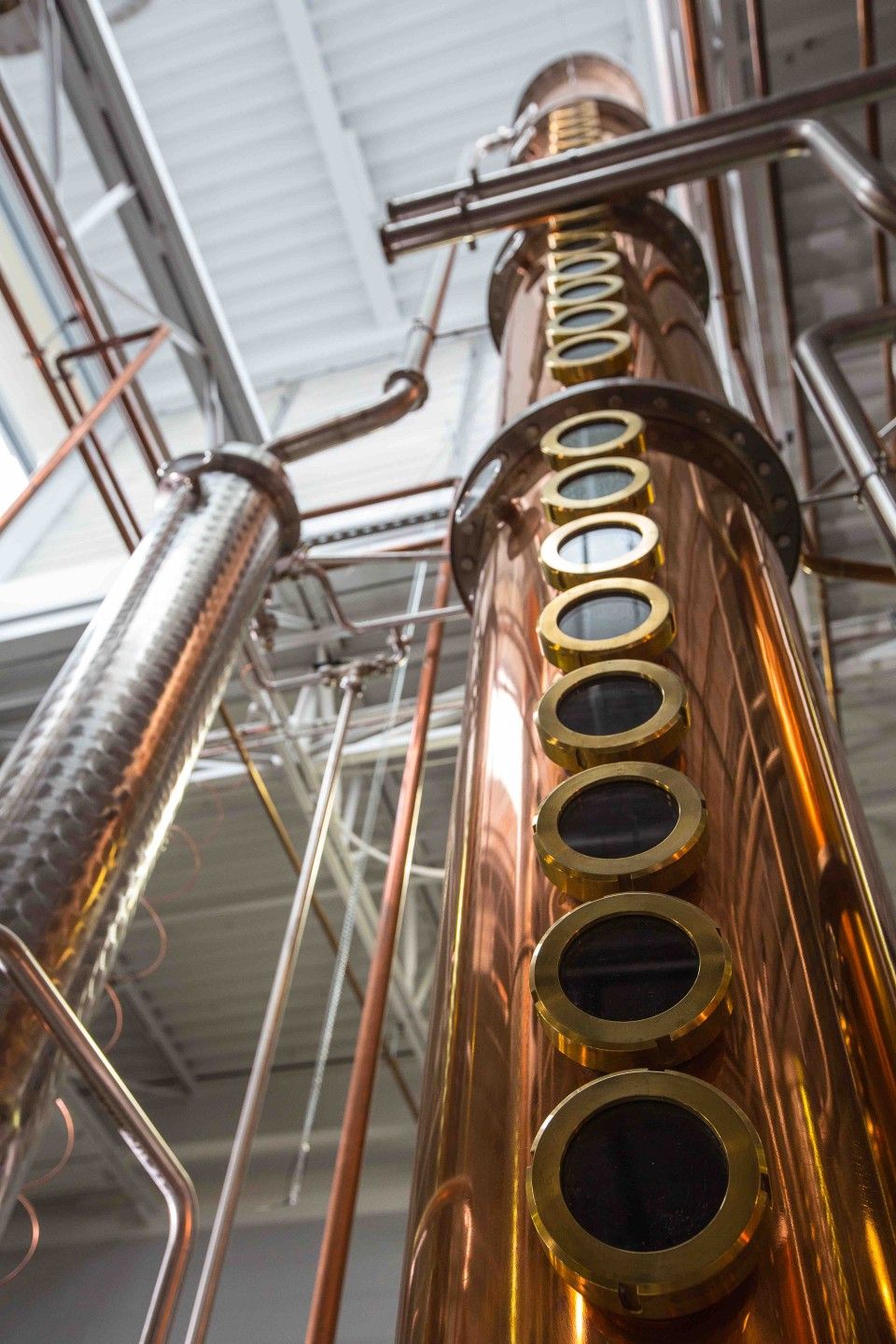Topo Organic Spirits in North Carolina makes vodka, gin and whiskey from local ingredients.