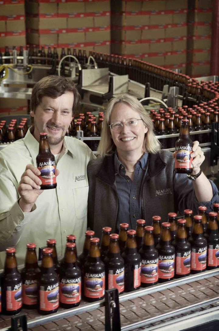Geoff and Marcy Larson founded the brewery in 1986, and the company has developed unique environmental innovations to compensate for the difficulties of its location.
