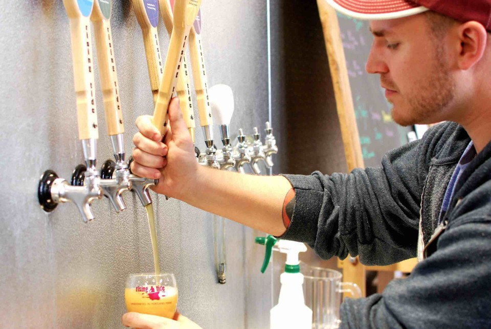 Portland, Maine's dining and beverage scene has evolved in recent years, thanks to cocktail bars and such breweries as Rising Tide Brewing Co.