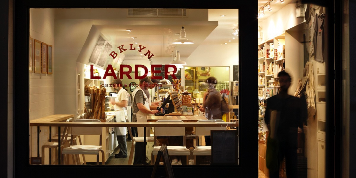 The Franny's team opened Brooklyn Larder to provide neighborhood residents with quality food at retail.