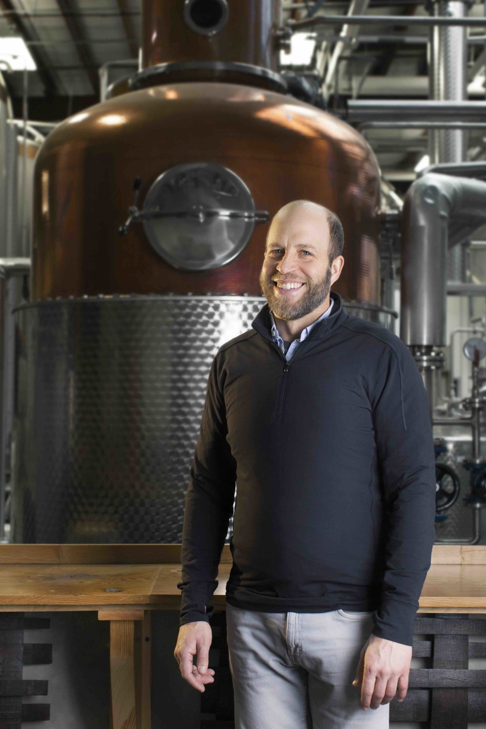 Brian Ellison was inspired to start Death's Door Spirits as a way to support agriculture on Wisconsin's Washington Island. The company's gin has led growth, and Death's Door now employs 19 people.