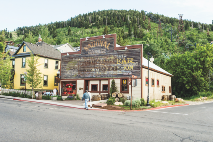 Park City, Utah's High West Distillery produces its own spirits, as well as openly sourcing aged whiskies for its products, including High West Rendezvous Rye, High West Double Rye! and High West Bourye.