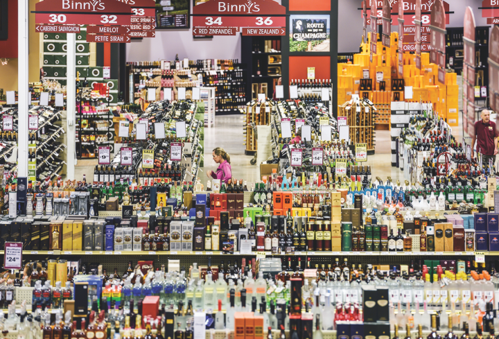Binny's Beverage Depot, a chain of retail outlets in the Chicago area, stocks a large number of craft spirits labels, which account for about 10 percent of spirits merchandising purchases.