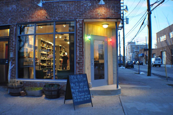 Hand-crafted products are popular both on-and off-premise. Red Hook retailer Dry Dock Wine & Spirits  bottles single barrels of whiskey from nearby Van Brunt Stillhouse.