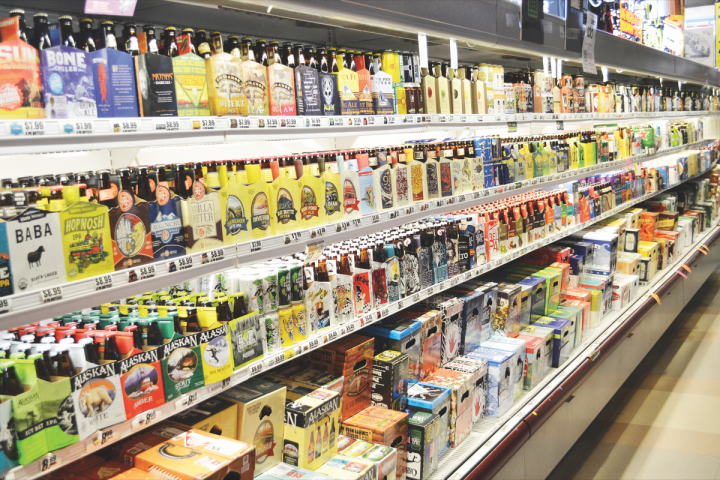 At Jubilation Wine & Spirits in Albuquerque, New Mexico, IPAs now represents 40 percent of craft beer sales. The ever-increasing number of IPA offerings has helped the category win more space at retail.