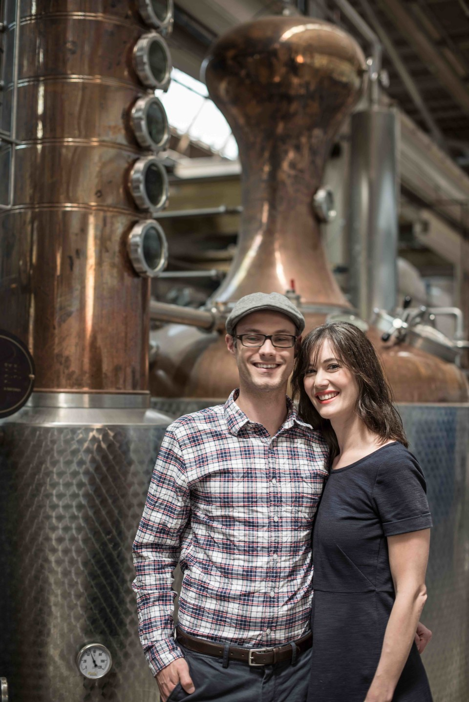 Robert and Sonat Birnecker, cofounders of Chicago-based Koval Distillery, produce a variety of spirits, including gin, vodka, brandy, liqueur and several whiskies made from different grains. The husband-and-wife team has been instrumental in securing legislation that's favorable to craft distilleries in Illinois.