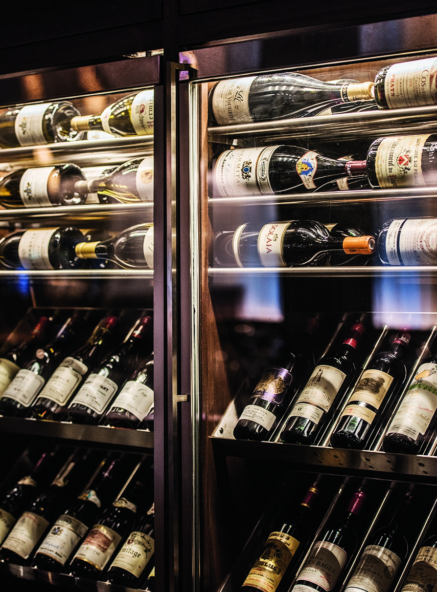 The restaurant RPM Steak sets itself apart from similar Chicago venues by creating a noteworthy wine selection and featuring updated décor.