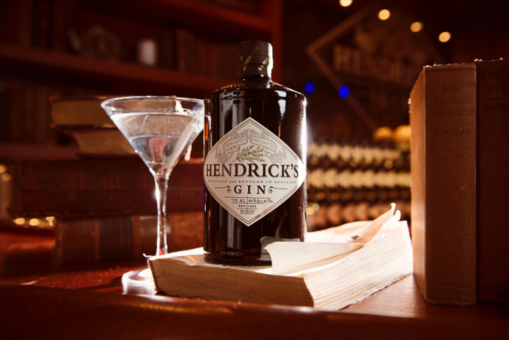 With notes of cucumber and rose, William Grant–owned Hendrick's gin leads the movement away from traditional juniper-led flavor profiles.