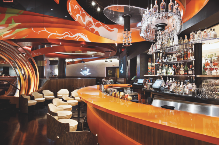 Samba Brands Management operates five Sushi Samba locations worldwide (Las Vegas unit pictured).