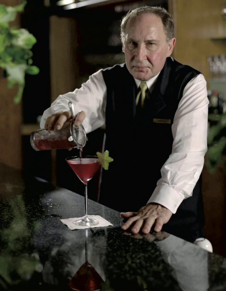 The Ritz-Carlton New York Central Park's longtime bartender, Norman Bukofzer, has created classic and elegant cocktails for over four decades.