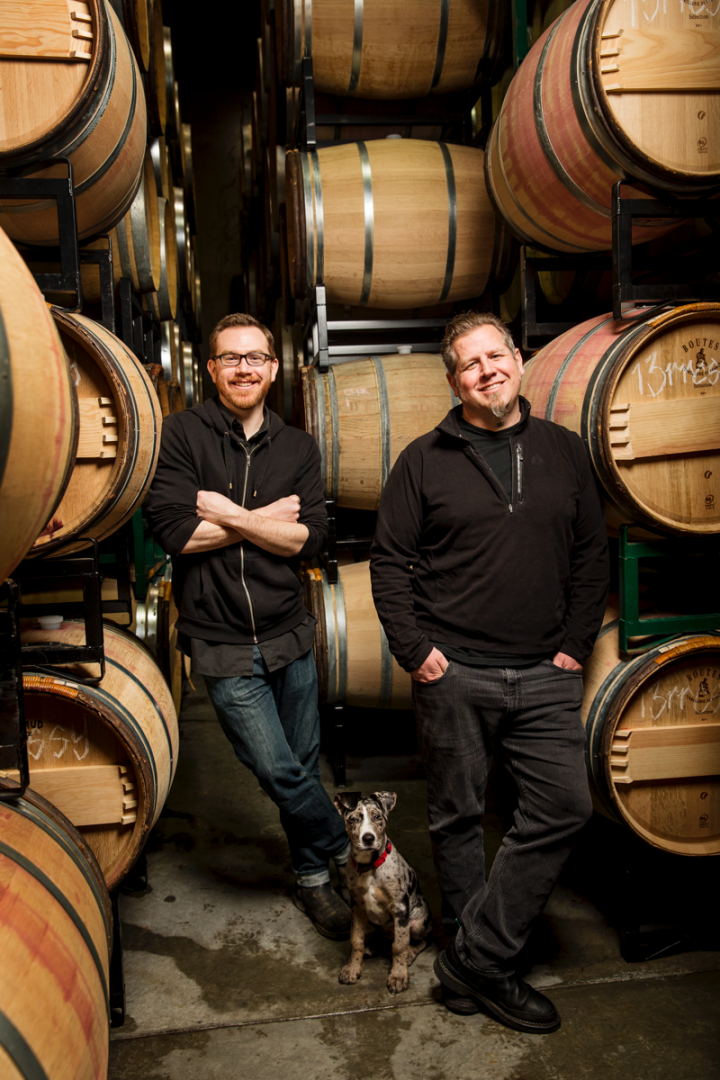 Washington's plentiful acreage allows for varietal experimentation and other innovations. Charles Smith Wines–owned K Vintners focuses on single vineyard Syrah and field blends, made by winemakers Andrew Latta  (left) and Brennon Leighton (right).