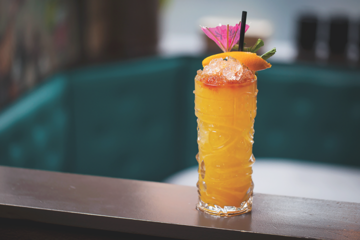 Mixologists are taking cachaça beyond the Caipirinha with such creations as the Visible Edulis, which mixes passion fruit and orgeat syrups, along with lime and pineapple juices.