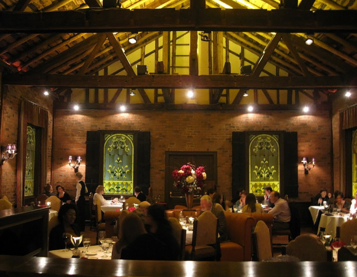 Housed in a former church complete with stained glass windows, the Refectory is a Columbus staple, offering upscale French and American fare alongside a thoughtful and expansive wine list.