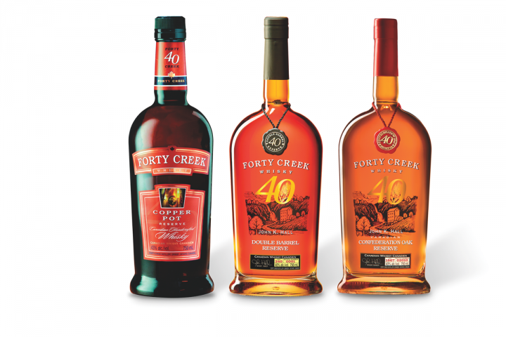 In addition to Barrel Select, Forty Creek's U.S. lineup includes the mixology-focused Copper Pot expression, the Bourbon barrel–finished Double Barrel Reserve and the Canadian oak–aged Confederation Oak.