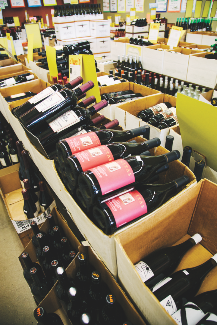 Los Angeles Wine Co. offers a wide range of wines, from mass-market offerings to  high-end Burgundy, Bordeaux and Champagne, with a focus on wines that aren't industrially produced. With competitive pricing and tight margins, the stores aim to have the lowest price available on most offerings. The company doesn't sell spirits or beer.