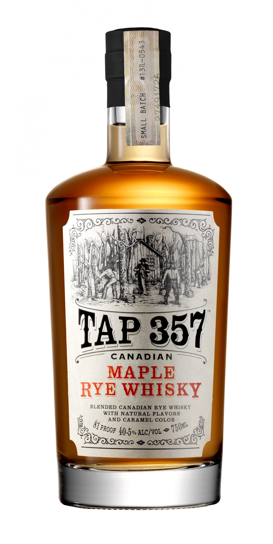 Flavored whiskies often play on the inherent taste profile of the spirit. Tap 357 Maple integrates sweetness with the spice of Canadian rye whisky.
