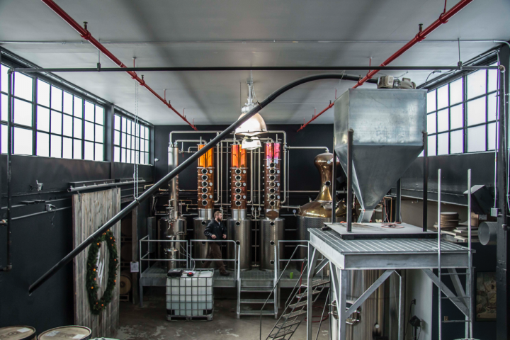 Since its founding five years ago, Watershed Distillery has greatly expanded, and it now sells vodka, gin and Bourbon in a number of states outside Ohio.