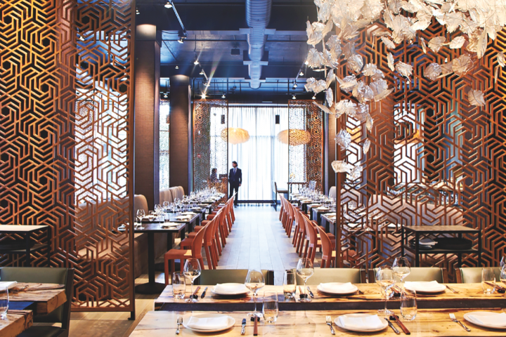 Albariño's appeal has expanded beyond Spanish restaurants. At the Asian-inspired Embeya restaurant (above) in Chicago, the aromatic wine pairs well with delicate fare.