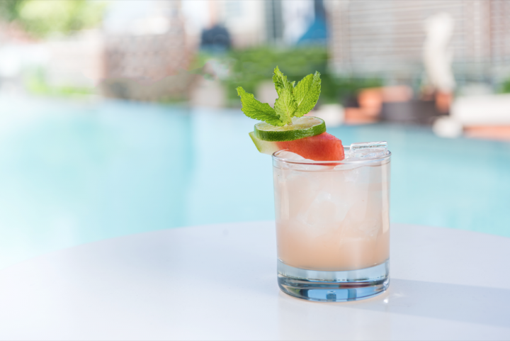 This summer, Omni Hotels & Resorts is focusing on honey-based cocktails (Honey Melon Mojito pictured) as a way to incorporate local flavor.