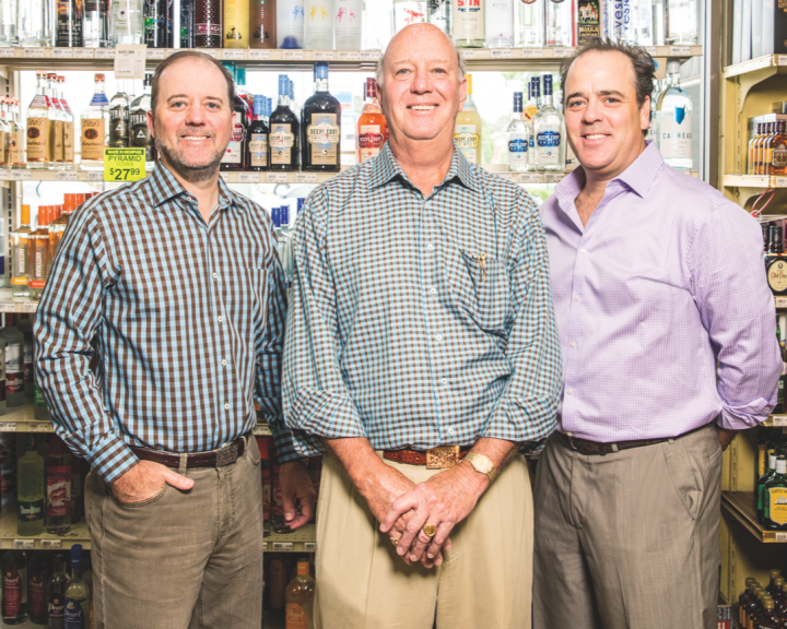 From left: Morgan, Rommy and Joshua Hammond own and operate Buster's Liquors & Wines in Memphis, Tennessee. The store embraces legal change and technological innovation through its growing online business.