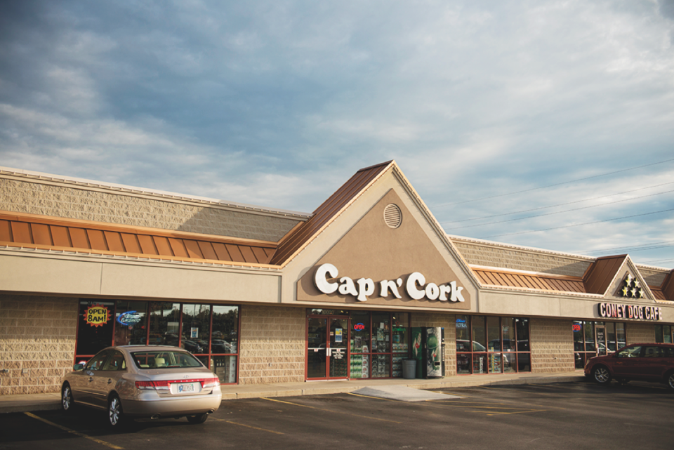 Cap n' Cork has 15 stores in Fort Wayne and New Haven, Indiana (Coldwater Road store pictured). The company is evaluating expansion into other local markets.