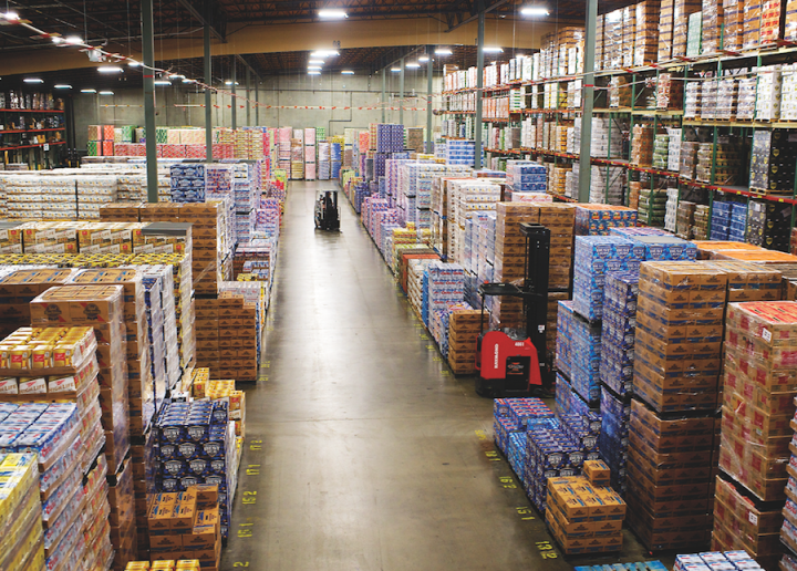 With territory covering roughly 135,000 square miles across Oregon and Washington, Columbia Distributing represents over 100 brands of all sizes and handles 1,850 beer and cider SKUs.