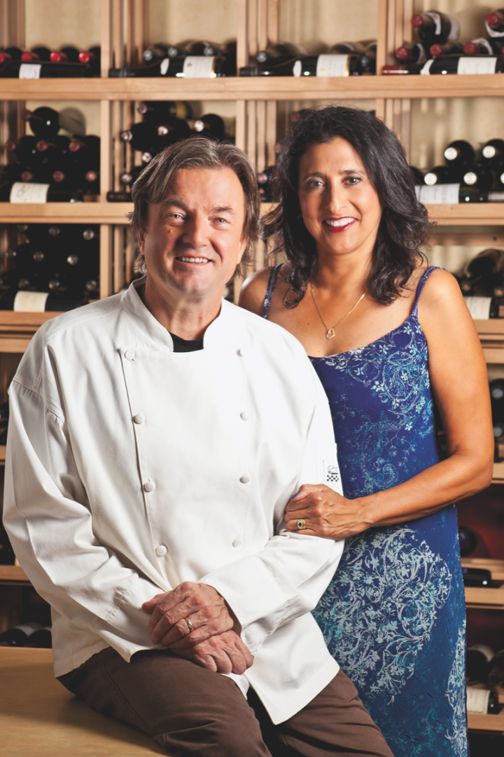 Bill and Trish Gilbert run the French restaurant Beaujolais Bistro, which contributes to Reno's growing wine scene.