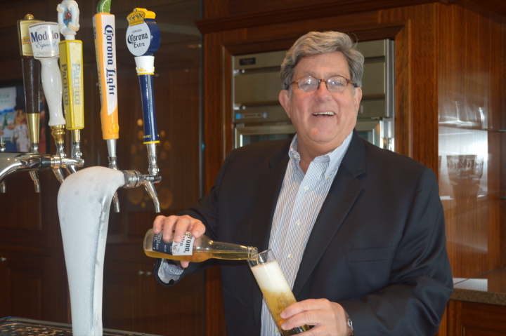 Bill Hackett leads Constellation Brands' beer division, which includes Corona Extra and Modelo Especial.