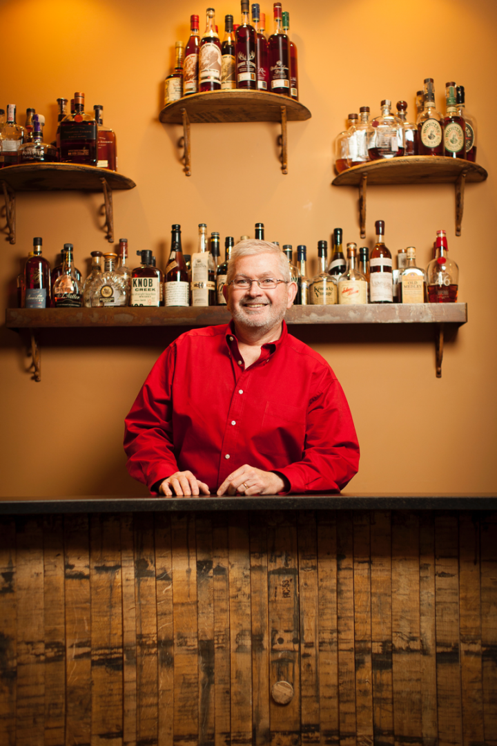 At Westport Whiskey & Wine in Louisville, Kentucky, Chris Zaborowski (pictured) sells Bourbon to high-end connoisseurs and collectors.