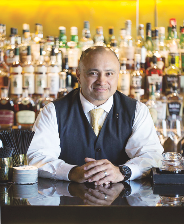 The Rye Bar head bartender Angel Cervantes aims to bring simplicity and creativity to rye whiskey–based cocktails.