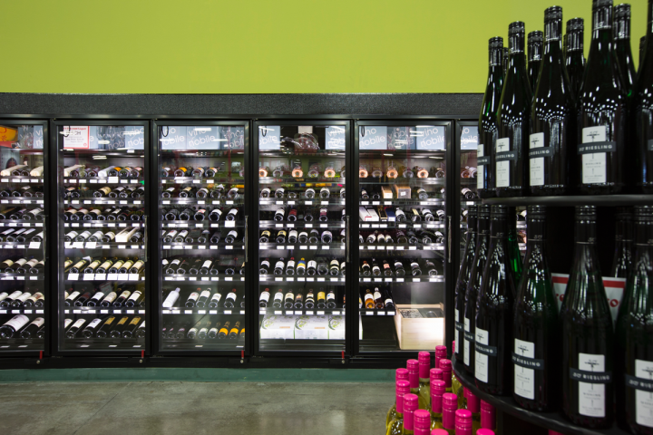Each Lee's Discount Liquor location typically offers the same product mix, regardless of store size. The chain carries roughly 8,000 wine SKUs, and customers favor high-volume, premium-priced offerings, with sweet red blends doing particularly well.