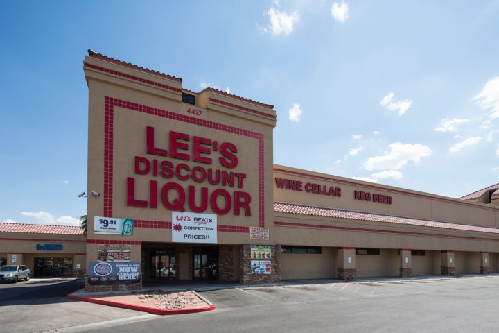Most Lee's Discount Liquor stores (East Sunset Road location pictured) are located in Las Vegas, but the company has one unit on the Utah border and another planned for 2016.