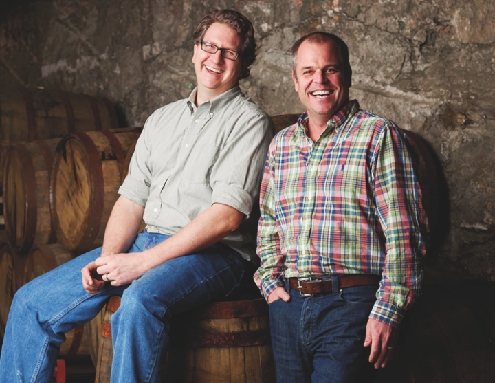 In 1997, Dave Engbers (left) and Mike Stevens (right) established Founders Brewing Co., now the 17th-largest craft brewer in the United States.