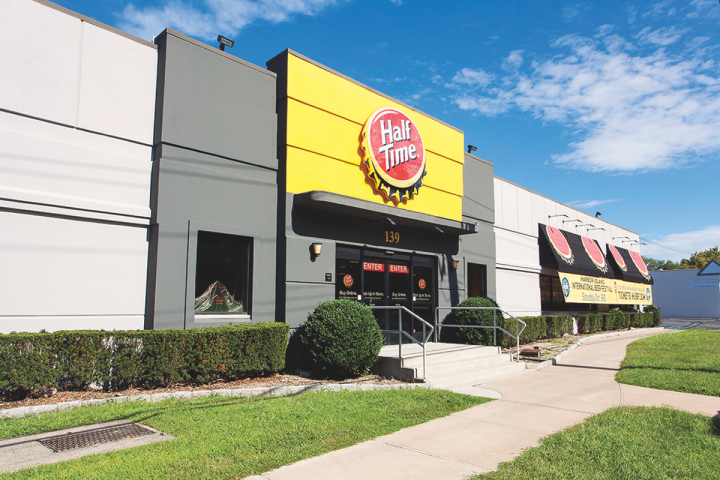 Half Time has stores in Mamaroneck (pictured) and Poughkeepsie, New York, with further expansion planned over the next three years.