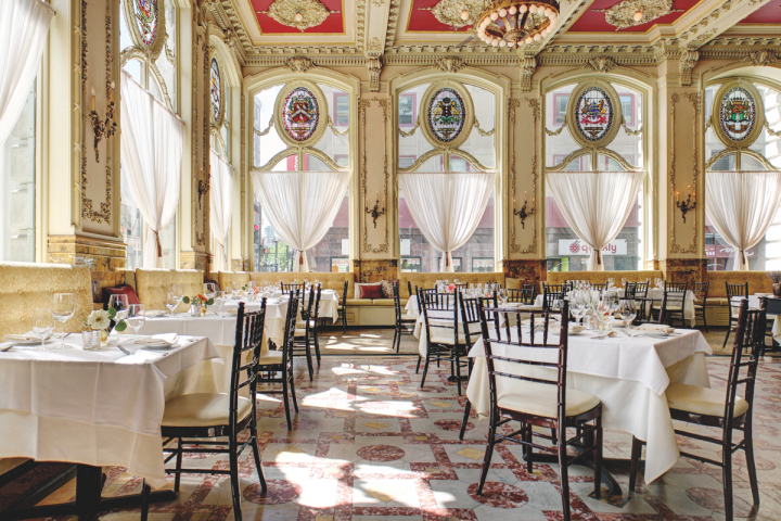 Located in Downcity, The Dorrance blazed a trail in Providence's on-premise scene when it opened in 2011, offering craft cocktails and sophisticated, locally driven cuisine. The restaurant has since won critical acclaim, including James Beard Award nods.