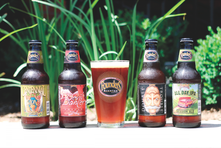 Founders offers eight year-round labels and a wide variety of seasonals. IPAs form the cornerstone to the Founders lineup and span a variety of flavor profiles and styles.