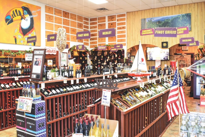 At Jones Liquor in Brownsville, Texas, Spanish offerings account for a third of wine sales. The store's primarily Hispanic consumers, who are often familiar with Spanish labels, drive the business in high-end marques from regions like Rioja and Ribera del Duero.